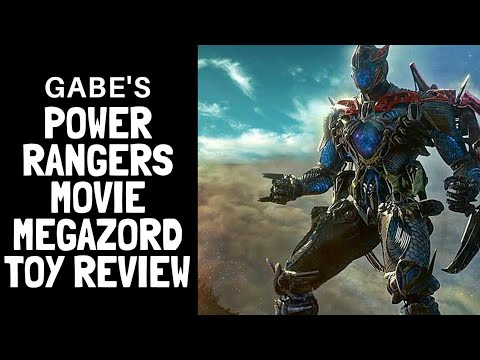 Power Rangers Movie Megazord Review Deluxe 2017 transforming zords
