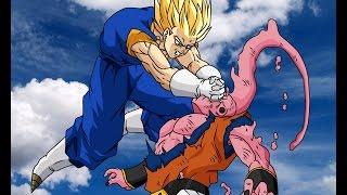 Vegito vs Super Buu Full Fight FUNimation