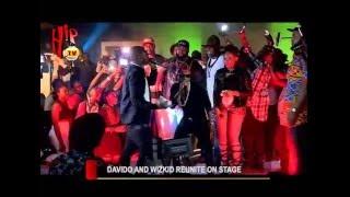WIZKID AND DAVIDO REUNITE ON STAGE (Nigerian Entertainment News)