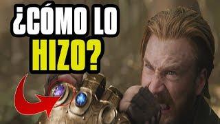 Por qué el Capitán puede detener un golpe de Thanos!? Secretos y referencias Trailer #2 Infinity War