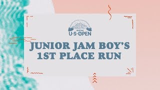 2018 Burton U·S·Open Junior Jam – Boy's 1st Place Run