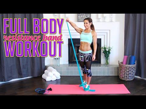 Xxx Mp4 Short Full Body Workout W Resistance Bands Natalie Jill 3gp Sex