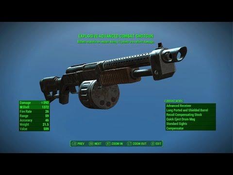 Fallout  Explosive Shotgun Build