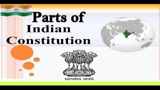 Trick To Remember Parts Of Indian Constitution