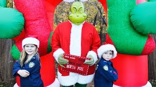 BREACHING CHRISTMAS TOWN  The Grinch goes to jail featuring The Assistant and Kid Cops