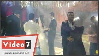 شاهد حفل زفاف محمد أنور نجم مسرح مصر