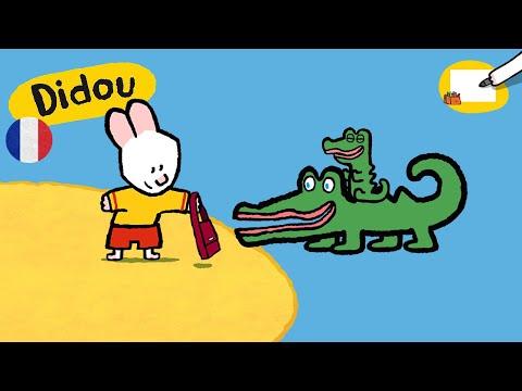 Crocodile didou dessine moi un crocodile dessins anim s pour les enfants daikhlo - Dessin anime les crocodiles ...