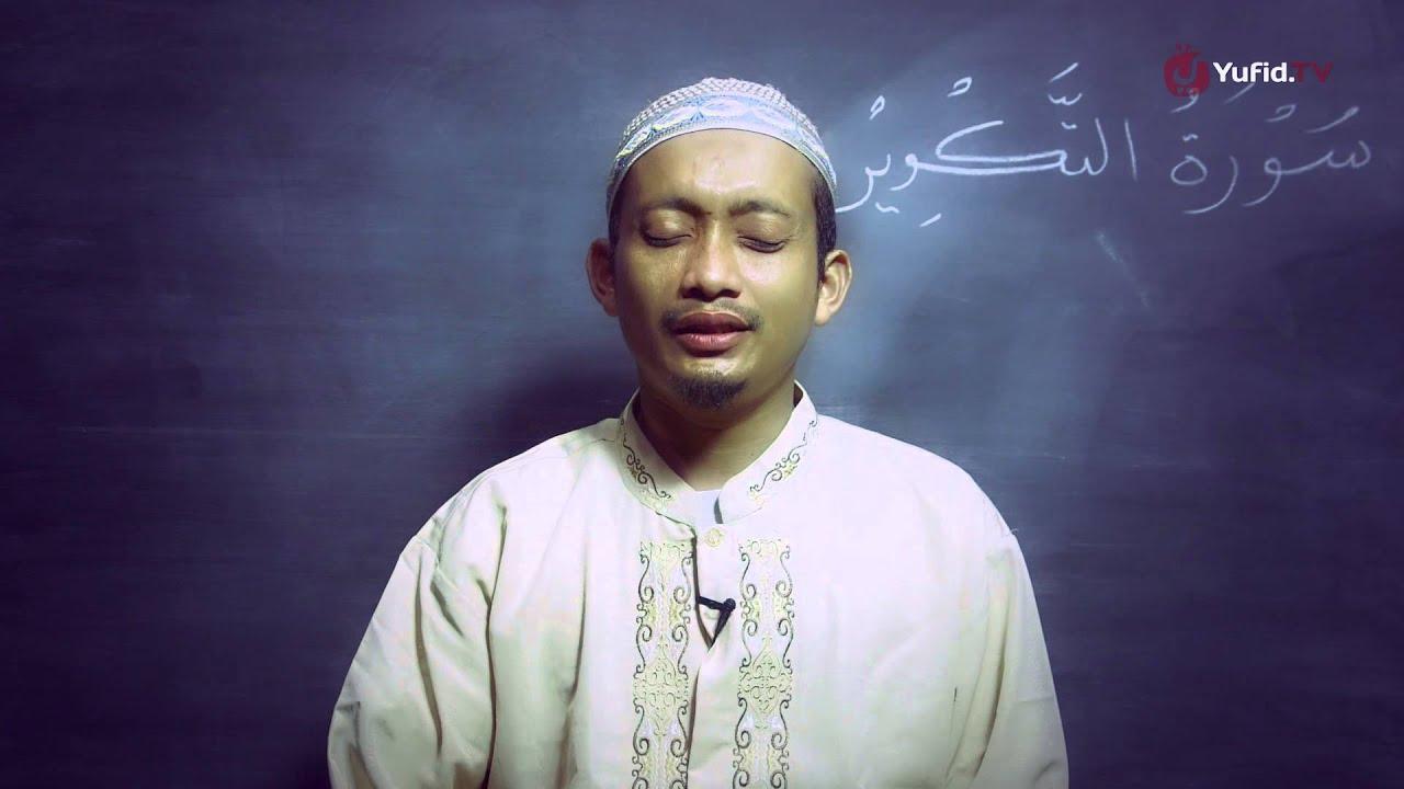 Murottal Bacaan Quran: Surat - At-Takwir (Juz 30) - Ustadz M. Ulin Nuha