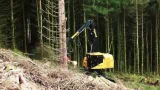 Harvester Tigercat LH845D