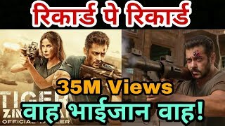 Tiger Zinda Hai Official Trailer | Biggest Record | Salman Khan | Katrina Kaif | Ali Abbas Zafar