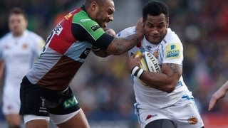 Harlequins 16 - 27 Exeter Chiefs - Round 17 Highlights   Premiership Rugby