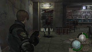 """バイオハザード4 寄生体を扉に閉じ込めると""""驚愕""""の現象が......【Resident Evil 4】【PS4】"""