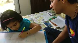 Mishka's maths exam preparation review by papa