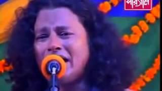 New Baul Bicched Gaan Kajol Dewan Ami Cheye Dekhi Shob Bideshi Re Low, 360p