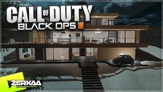 MODERN MANSION ZOMBIES! (Black Ops 3 Custom Zombies)