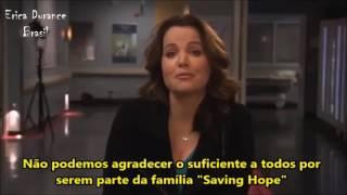 Erica Durance announces 'Saving Hope' will conclude with Season 5 [LEGENDADO]