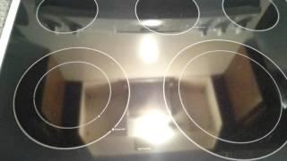 GE 5 burner stove
