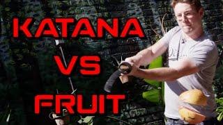 Real Life Fruit Ninja