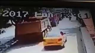 Video camara de seguridad accidente circunvalar