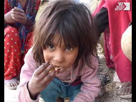 India:  Young girl documents slum life