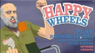 Parker Plays HAPPY WHEELS!