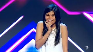 VERY SHY GIRL Marlisa Gets STANDING OVATION! -