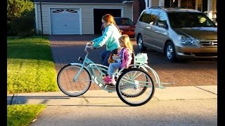 How to make a bicycle sidecar
