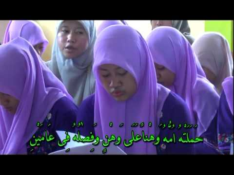 LESSON 1 (CONTINUED) SONGS OF LEARNING LEARN TO READ THE QUR'AN