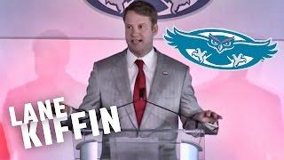 Lane Kiffin introduced as Head Coach at FAU (full presser)