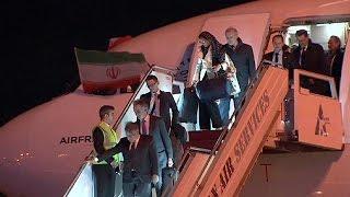 پرواز ایرفرانس پس از هشت سال با مهمانداران با حجاب وارد ایران شد