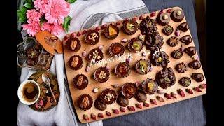 شوكولا فاخرة للعيد بحشوات رائعة