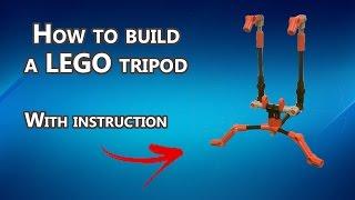 How to build a LEGO Mini Tripod
