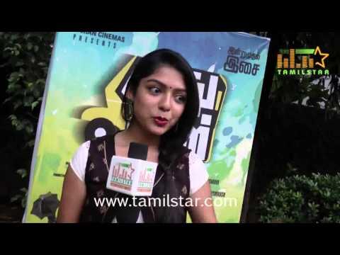Varsha at Sathuran Movie Audio Launch