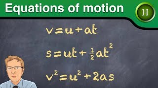 Equations of motion (Higher Physics)