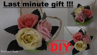 DIY/How to/Easy tutorial/Last minute gift or home decoration: bricoart.kam