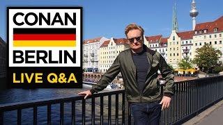 LIVE YouTube Q&A: Conan Berlin