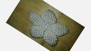 Beaded Tutorial-Beaded Brooch Tutorial-DIY Jewelry Making Tutorials for Beginners