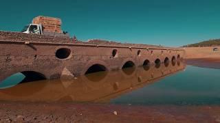 Barragem do Pego do Altar - Efeitos da seca