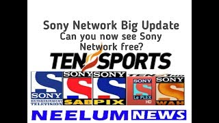 Sony Network Software New Update.Sony Network Software Changed to CW.