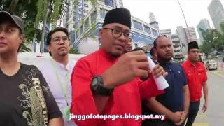 20170725 ARMADA diserang Pemuda UMNO ketika hantar jemputan N2H2