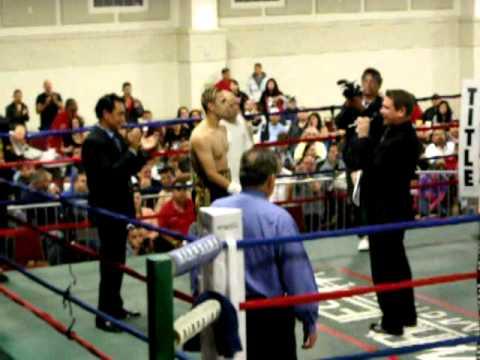 Marines Promotions Presents Border Brawl 3 Main Event Raul El Tirge Casarez vs Justin Williams Part1