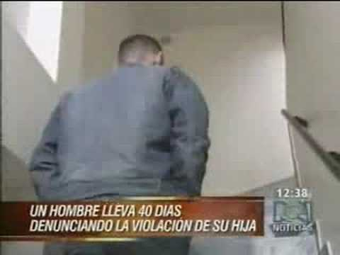 Drama en Colombia de padre de una niña violada