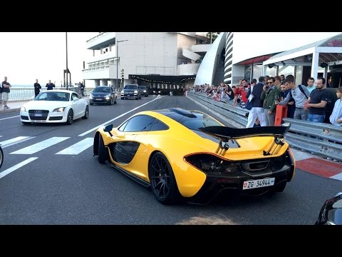 Top Marques Monaco Highlights Supercars Tunnel Accelerations and Revving