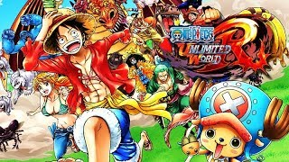 One Piece: Unlimited World Red (PS3 / English) - Full Movie / All Cutscenes - Complete Edition