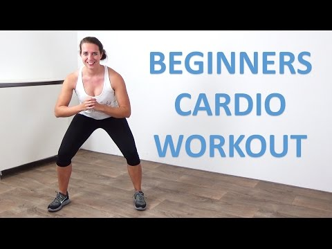 Cardio Workout for Beginners – 20 Minute Low Impact Beginner Cardio Exercises at Home – No Equipment