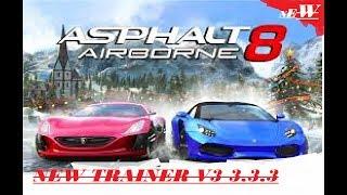 Asphalt 8 NEW Trainer v3 3 1 1 DOWNLOAD NOW FOR FREE Gratis