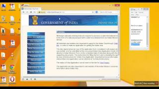 Indian visa E-Token appointment date (Software tips )