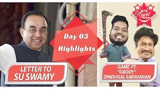 Letter To Su Swamy   Settai Night Show   Day 03 Highlights   Biggest Show of Smile Settai