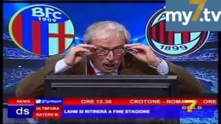 DirettaStadio 7Gold Bologna Milan 0-1 Crudeli impazzisce di gioia: DEU-DEU-DEU !!!
