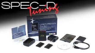 SPECDTUNING DEMO VIDEO: REAL TIME CAR GPS GPRS GSM TRACKING DEVICE SMS